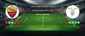 Tips for Roma vs Lazio on 26 January 2020 - Serie A