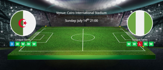 Tips for Algeria vs Nigeria on 14 July 2019 - Africa Cup of Nations