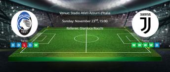 Tips for Atlanta vs Juventus on 23 November 2019 - Serie A