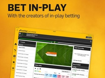 The In Play feature allows you to place bets live.