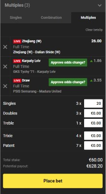 Unibet's Betslip Lets You Customize Your Bet