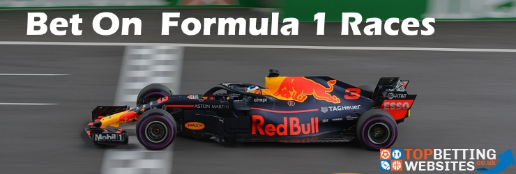 Everything you need to know about betting on Formula 1 Races.
