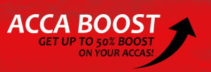 BetVision ACCA Boost up to 50%