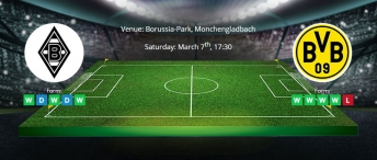 Tips for Borussia Monchengladbach vs Borussia Dortmund on 7 March 2020 - Bundesliga