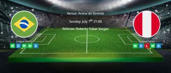 Tips for Brazil vs Peru 7th July 2019 - Copa America Final