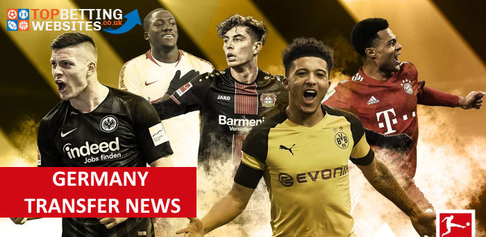 Check out the latest news about the Transfer window in Germany.