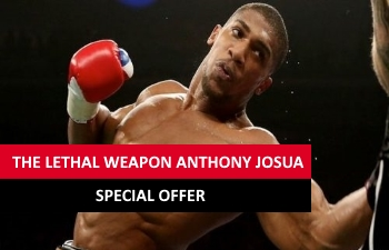 Gentingbet offers special offers when Anthony Joshua has a fight.