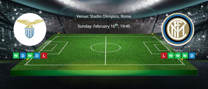 Lazio vs. Inter Milan - Preview & Betting Tips - 16/02/2020