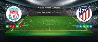 Tips for Liverpool vs Atletico Madrid on 11 March 2020 - UCL