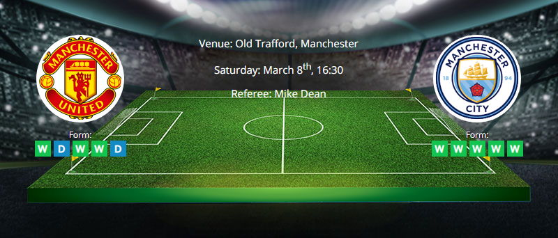 Man. United vs Man. City - Preview & Betting Tips - 08/03/2020