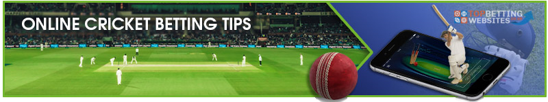 Here you will find everything about online cricket betting.