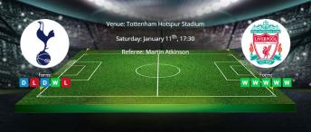 Tips for Tottenham vs Liverpool on 11 January 2020 - Premier League