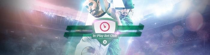 Unibet In-play is a weekly event.