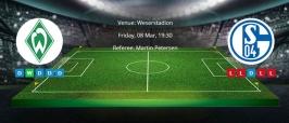 Tips for Werder Bremen vs. Schalke 04 on 08 Mar 2019
