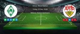 Tips for Werder Bremen vs. Stuttgart on 22 Feb 2019